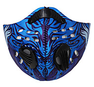 Sports Bike/Cycling Face Mask/Mask Unisex Sleeveless Dust Proof / Windproof Polyester Classic Black / Blue