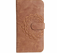 Embroidery Flower Pattern Leather Card   Leather for iPhone 6/6S/6 Plus/6S Plus