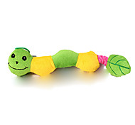 Cat / Dog Pet Toys Plush Toy / Squeaking Toy Squeak / Squeaking Green / Blue / Yellow Plush