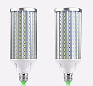 50W / 60W E26/E27 LED Corn Lights T 210 SMD 5730 4000 lm Warm White / Cool White Decorative AC 85-265 V 2 pcs