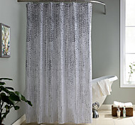 70x72inch Elegant Style  Design Waterproof Bathroom Fabric Shower Curtain