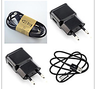 Fast Charger Charger Kit EU Plug Home Charger / Portable Charger for Cellphone / Other Pad /  Smart Watch (5V  1A)