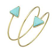 Fashion Imitation Turquoise Cuff Upper Arm Bracelets