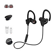 Sports Wireless Bluetooth Earphones Stereo Earbuds Headset Bass Headphones with Mic In-Ear