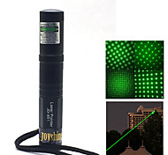 JD851 Green Beam Laser Pointer Pen  (5MW, 532nm, 1x16340 + Charger, Black)