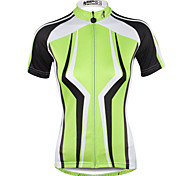 Breathable and Comfortable Paladin Summer Male Short Sleeve Cycling Jerseys DX713 Dark Green