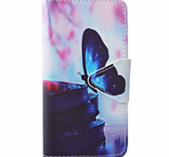 Butterfly Pattern PU Material New High-End Card Holder Phone Case For Samsung Galaxy J3 (2016) J5 J5 (2016)