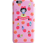 Apple Girl Pattern Phone Shell TPU Material IMD Technology For iPhone 6s 6 Plus SE 5S 5