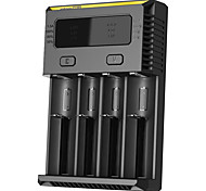Nitecore new i4 Smart Battery Charger for 18650/14430 Ni-MH/Li-ion/IMR/LiFePO4 Battery