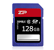 ZP 128GB Classe 10 SD/SDHC/SDXCMax Read Speed80 (MB/S)Max Write Speed20 (MB/S)