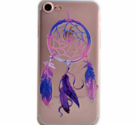 Dream Catcher Color 8 Painted TPU Material Phone Case for iPhone 7 7plus