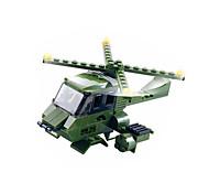 Bloques de Construcción Para regalo Bloques de Construcción Modelismo y Construcción War Chariot / Helicóptero Plástico Por encima de 6