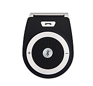 Car Wireless Bluetooth Handsfree Car Kit Speakerphone Sun visor Clip 10m Distance For iPhone with Car Charger