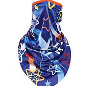 Sports Bike/Cycling Face Mask/Mask Unisex Sleeveless Dust Proof / Windproof Terylene Classic Blue Free Size Cycling/Bike