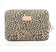 "10"" 11"" 12"" 13"" 14"" Classic Leopard Laptop Sleeve Notebook Bag Liner Bag Shockproof for Macbook/HP/Dell/ Etc"