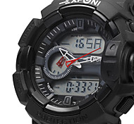 EXPONI 3227 Men's Fashion Sports Waterproof Shockproof LED Quartz Digital Military Watch