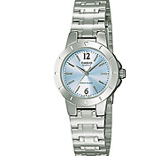 CASIO Fashion Classic Female Watch with  Quartz Movement LTP-1177A-2A
