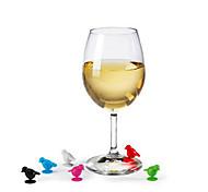 Utensílios de Bar e Vinho Silicone,10*5*2 Vinho Acessórios