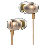 Maoke L6 In-Ear Translucent TPE Material Metal EarPhone Wire Bass Universal Headsets for iPhone Samsung