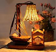 Lampes de bureau-Rustique/Campagnard-Bois/bambou-LED