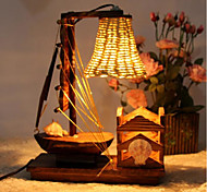 Nightlight Creative Handmade Wooden Sailboat F228 Bar Nightclub Atmosphere Warm Lamp