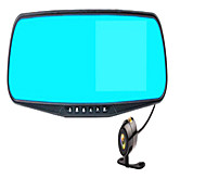 After Jerry HD 1080P Dual Lens Double Reverse Image Recording Antidazzling 4.3 Inch Rearview Mirror Tachograph