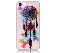 Glow in the Dark Dream Catcher  Pattern Embossed TPU Material Phone Case for  iPhone 7 7 Plus 6s 6 Plus SE 5s 5