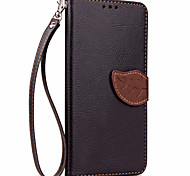 Leaf Card Leather Wallet Case for iPhone 7 Plus iPhone 6 Plus