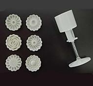 6 Выпечка 3D / Ручки / Новое поступление / Сделай-сам Торты / Печенье / Шоколад Пластик Формочки для выпечки