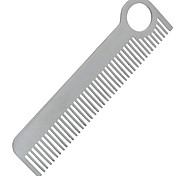 FURA Outdoor High Strength Stainless Steel Tactical Comb - Silver Grey