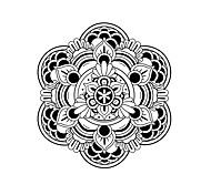 Religious Stickers Mandala Decals Mandala Wall Stickers For Home Decor