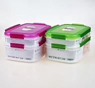 marque yooyee cadeau promotionnel de qualité alimentaire pp en plastique contenant de boîte de rangement pour la nourriture