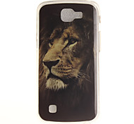 Back Cover IMD  Pattern Lion TPU Soft Case Cover For LG LG K10 LG K8 LG K7 LG K4
