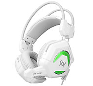 EACH GS200 Wired Gaming Headset Surround Stereo Bass Remote Control HiFi Computer Gamer Headphone Support PS3 With Mic