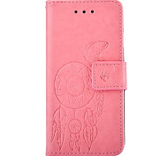 Campanula Embossed PU Leather Material Leather  for LG K4 K8 K10 K7 G5