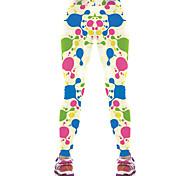 Pantaloni da yoga Pantaloni Traspirante Compressione Naturale Elastico Abbigliamento sportivo Blu Per donna Yoga Pilates