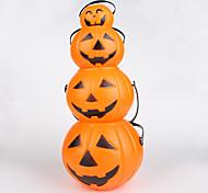 4PCS  Interesting Retro Hallowmas Christmas Convenient LED Pumpkin Lamp