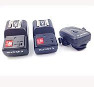 4-en-1 y 4 canales 433MHz Control remoto inalámbrico de activación de Flash para Canon / Nikon / Pentax Cámara