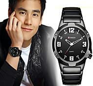 CURREN Hombre Reloj Deportivo Reloj Militar Reloj de Vestir Reloj de Moda Reloj de Pulsera Cuarzo Cuarzo Japonés CalendarioAcero