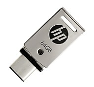 Hp 64gb usb 3.1 flash dirve type-c x5000 metal