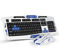 Keyboard Mouse Combo Wired Keyboard GamingCrack Gaming Mouse 6 Buttons Multimedia Game Gamer Kit Upgrade Version
