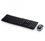 teclado sem fio fotoelétrico terno mk260 / terno wireless home office