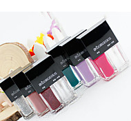 2Pcs/Set BK Brand Color-Changing Nail Polish 18 Colors  Water based Peel off Nail Polish for Gel Nail Art Designs