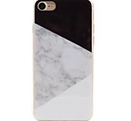 Назначение iPhone 8 iPhone 8 Plus iPhone 7 iPhone 6 Кейс для iPhone 5 Чехлы панели IMD Задняя крышка Кейс для Мрамор Мягкий Термопластик