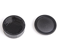 Dengpin Rear Lens Cover +Camera Body Cap for Leica M2 M3 M4 M6 M8 M9