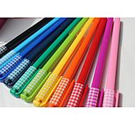 cor da caneta neutro (10pc)