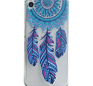 Back Cover Pattern Dream Catcher TPU Soft Case Cover For Sony Sony Xperia XA / Sony Xperia E5