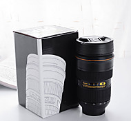 Travel Bottle  Camera Lens Stainless Steel Cup Travel Storage / Travel Drink & Eat Ware Stainless Steel