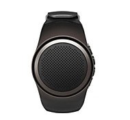 Bluetooth Portable Mini Watch Style Sport Speaker TF Card FM Radio Speakers with Selfie Shutter Anti-Lost Loudspeaker