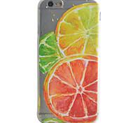 Orange Pattern Material TPU Phone Case For iPhone 7 7 Plus 6s 6 Plus SE 5s 5